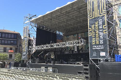 CARTEL FESTIVAL DE JAZZ 2016 ESCENARIO