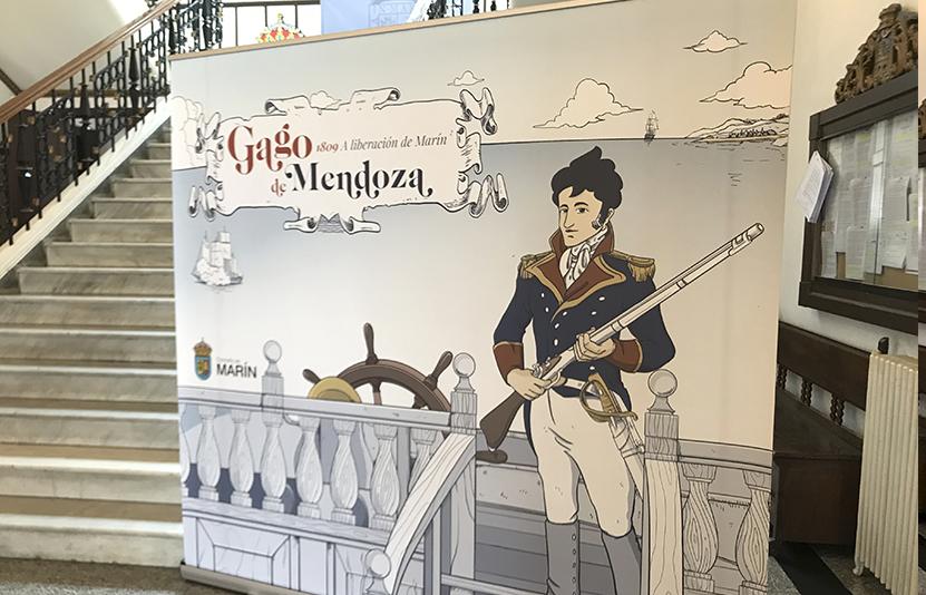 Roll up para presentación del cómic de Gago de Mendoza